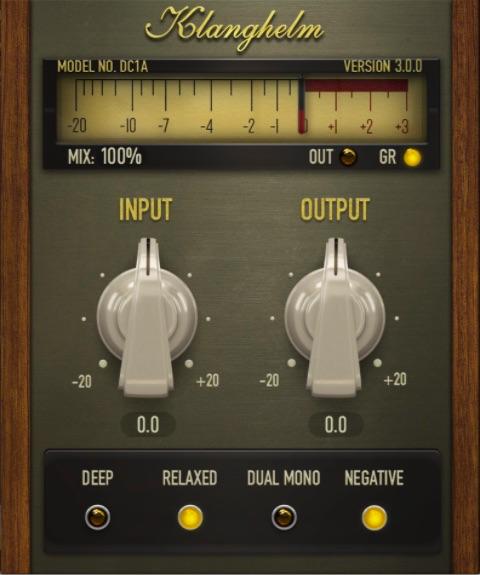 On trouve parmi les meilleurs plugins d'effets audio gratuits et disponibles sur internet : KLANGHELM DC1A - compresseur